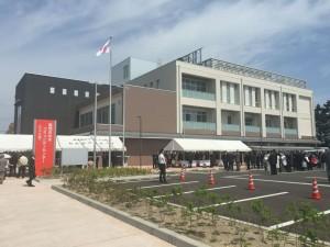 新しくなった伏木コミュニティセンター。