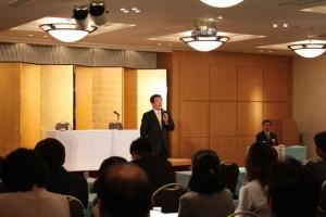 5月17日に開催された高岡市PTA連絡協議会の総会にて