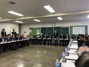 魅力発信に取り組む意気込みを語る高橋市長。