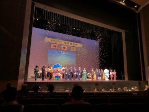 富山市オーバードホールで行われたねんりんピック富山大会の総合閉会式