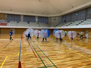 結構ハードなバブルサッカー