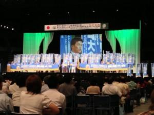 来年度開催される長崎のPRの模様