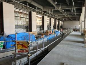 高岡駅新ステーションビル・万葉線ホーム