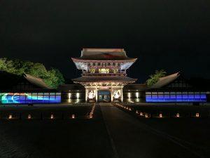 平成最後の瑞龍寺ライトアップ