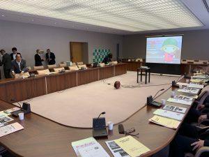 京都・亀岡市議会で議会運営委員会の方々と意見交換をさせていただきました。