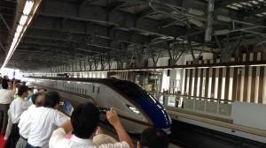 30分遅れで無事高岡駅に到着!