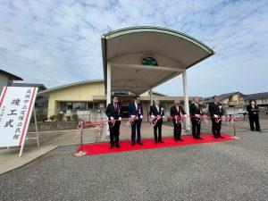 移転した、新定塚公民館。元々、保育園ということもあってバリアフリーの使いやすい公民館となりました。