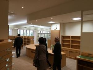 1階の伏木図書館
