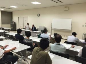 高岡南高校同窓会代表幹事会の模様。