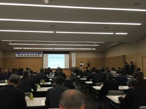 市議会議長会主催の研修会でローカルファースト研究所・関幸子氏の講演。