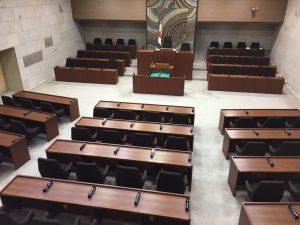 6月定例議会を終えた議事堂