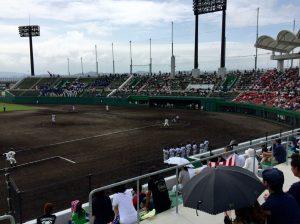 高岡南-氷見戦 いい試合でした。